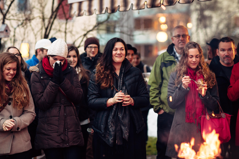 Gründungsparty der Extreme Dining GmbH in Mettmenstetten vom 18. Januar 2015