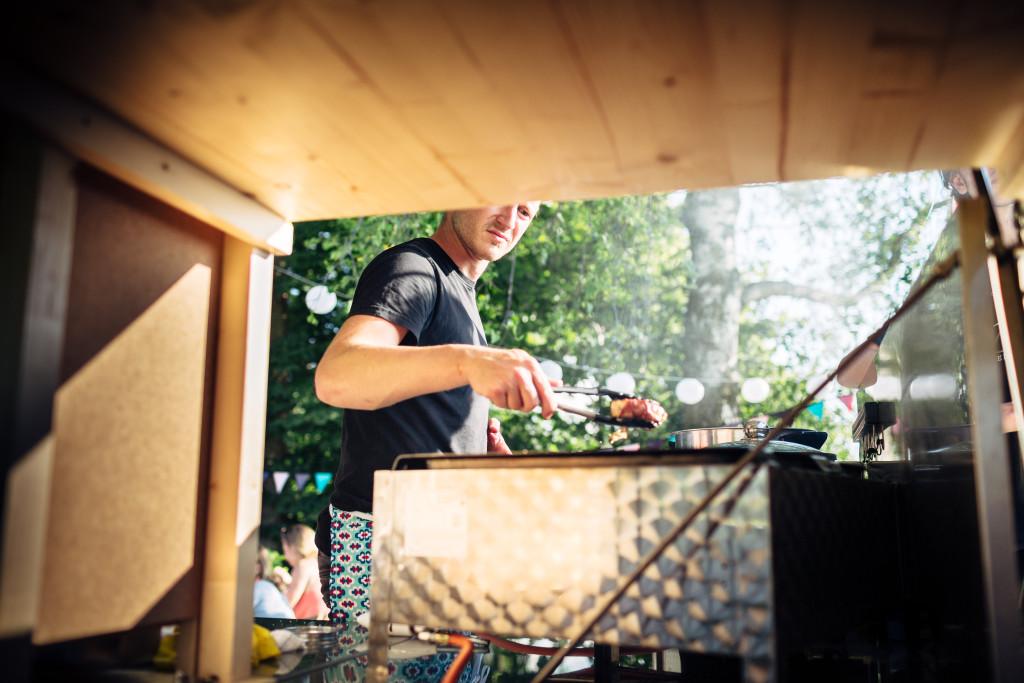 Event von Extreme Dining auf dem Bergli, Menzingen. Fotografiert von Andreas Feusi